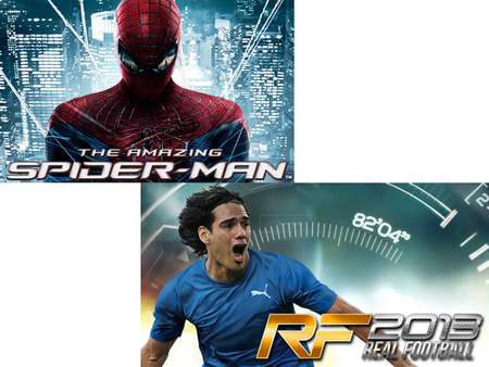 Amazing Spider-Man y Real Football 2013 otros dos juegos potentes para Windows Phone 8