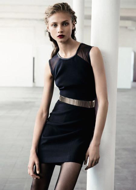 Vestidos de fiesta negro basico