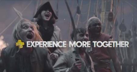 La experiencia es mejor en el comercial de PlayStation Plus
