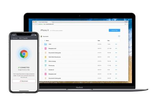 Documents para iOS incorpora Wi-Fi Transfer, la forma más rápida de mover archivos entre dispositivos