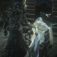 Lady Dimitrescu se cuela en Bloodborne vía mod para enfrentarse a la temible Lady Maria, protagonizando un duelo bestial