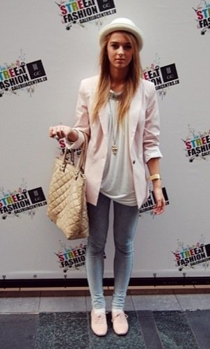 Look calle vuelta universidad: blazer