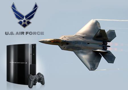 Las Fuerzas Aéreas de Estados Unidos también se pasan a PS3