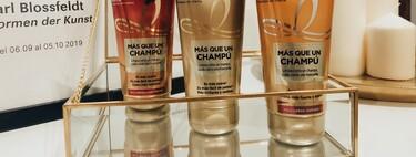 'Más que un champú', una crema que limpia el pelo como un champú y lo cuida como una mascarilla