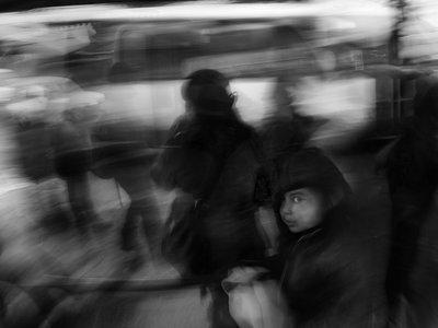'The Sound of Silence', de Eduardo Asenjo, captando el movimiento de la ciudad de una manera muy personal