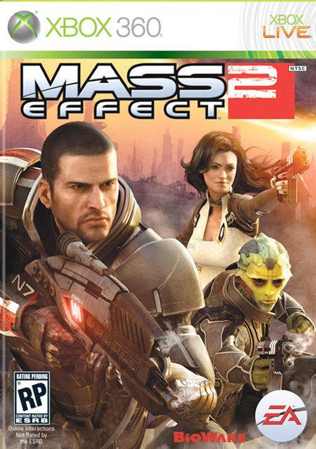 Mass Effect 2 portada