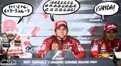 Lo que necesitan Hamilton, Alonso y Raikkonen para ser campeones en Brasil