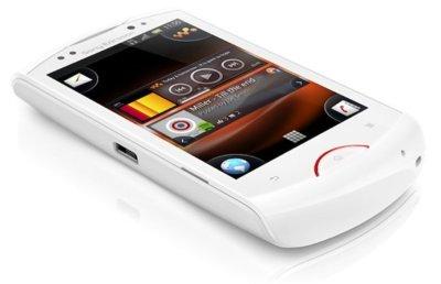Sony Ericsson Live with Walkman, teléfono musical agitado