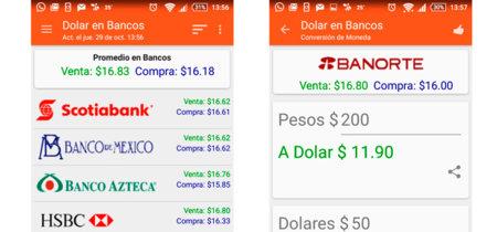 Dolar en México, los tipos de cambio en una sola app [Especial Apps de México]