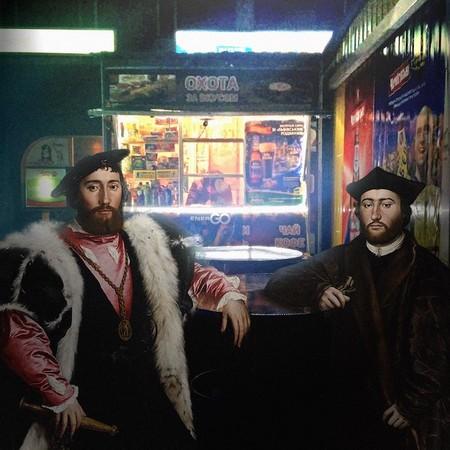 Obra original de Hans Holbein,