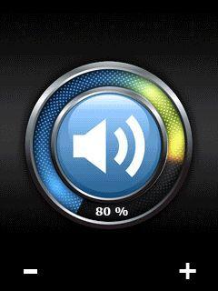 SetVolume, cambia el volumen en pantalla