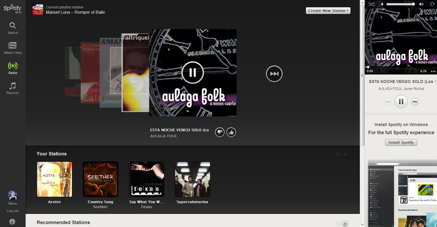 Foto de Spotify Web Player (4/8)