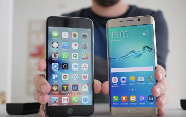 iPhone 6s Plus contra Galaxy S6 Edge Plus