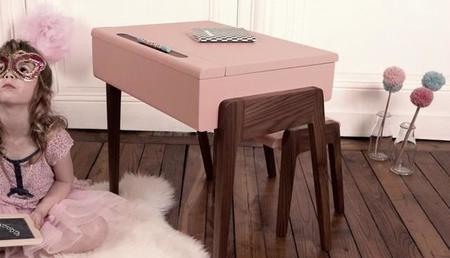 Adorable escritorio de estilo retro para niños de Jungle by Jungle
