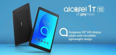 Alcatel 1T 10 y Alcatel 1T 7: llegan a México los primeros tablets con Android Go, este es su precio