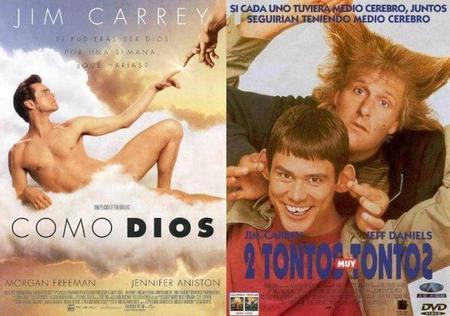 Jim Carrey en las secuelas de verdad de 'Como Dios' y 'Dos tontos muy tontos'