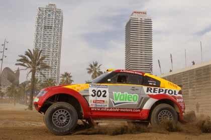 El Dakar 2008 ya calienta motores
