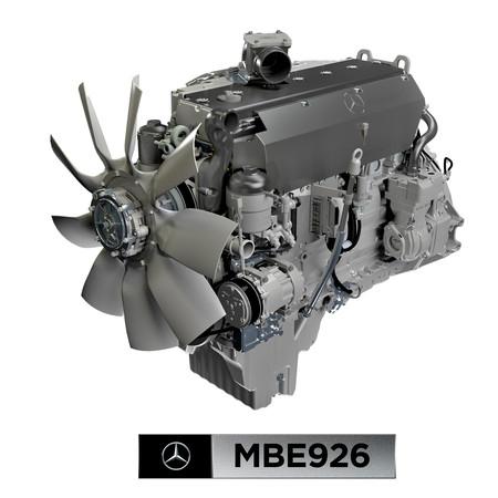 Daimlerm2 Mbe926 Sticker 20x20cm