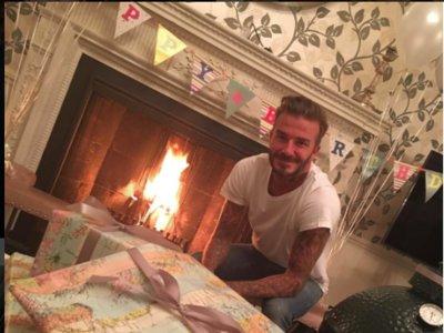 Poprosa y su familia le desean Feliz Cumpleaños a David Beckham