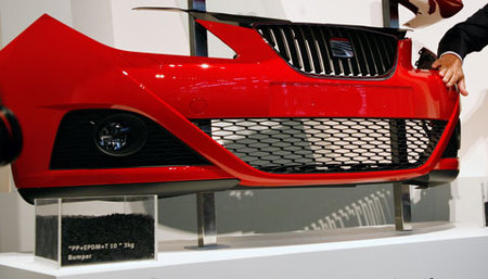El frontal del Seat Ibiza 2009