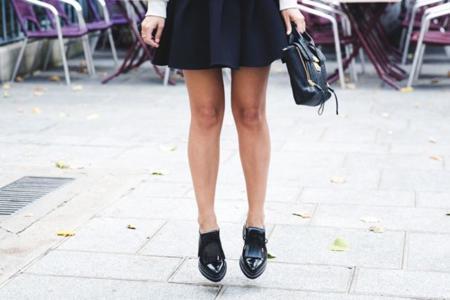 Wonder Sweatshirt Sandro Paris Neoprene Skirt Bruches Phillip Lim Outfit Street Style 17