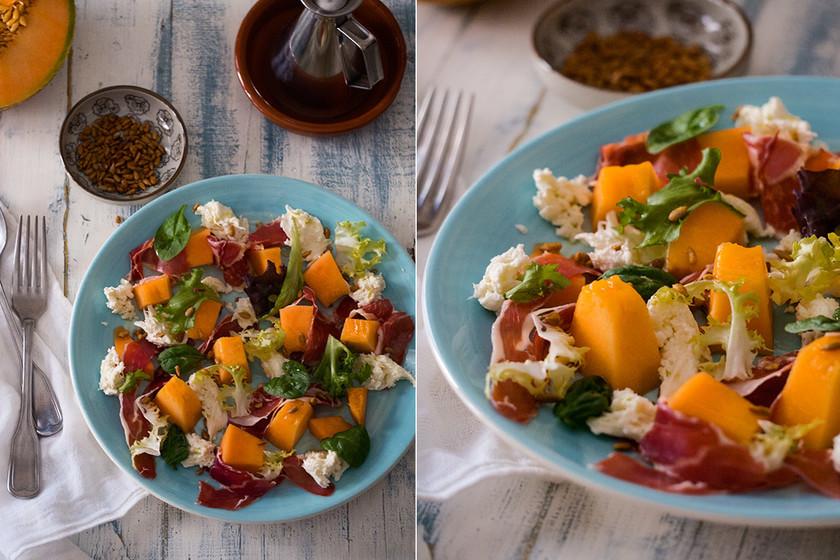 Paseo por la gastronomía de la red: 13 recetas de ensaladas para no aburrirnos en verano