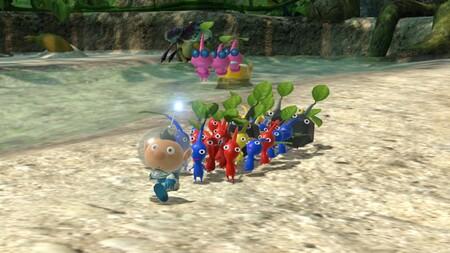 Los diferentes tipos de entrañables Pikmin son los protagonistas del nuevo tráiler de Pikmin 3 Deluxe