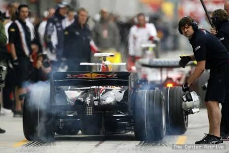 Webber y Alonso copan la tercera sesión de libres