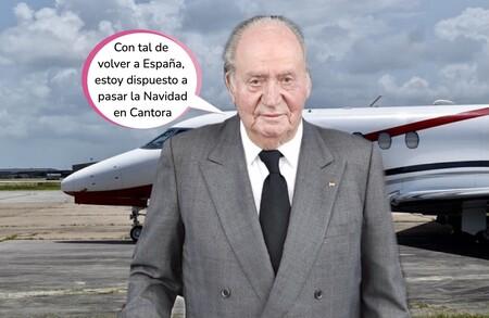 El rey Juan Carlos regresará a España el 15 de noviembre para irse de juerga: las escapadas secretas del monarca según Gustavo González