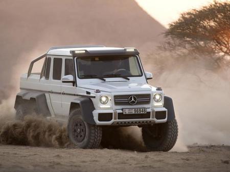 El Mercedes-Benz G63 AMG 6x6 cuesta 451.010 euros en Alemania