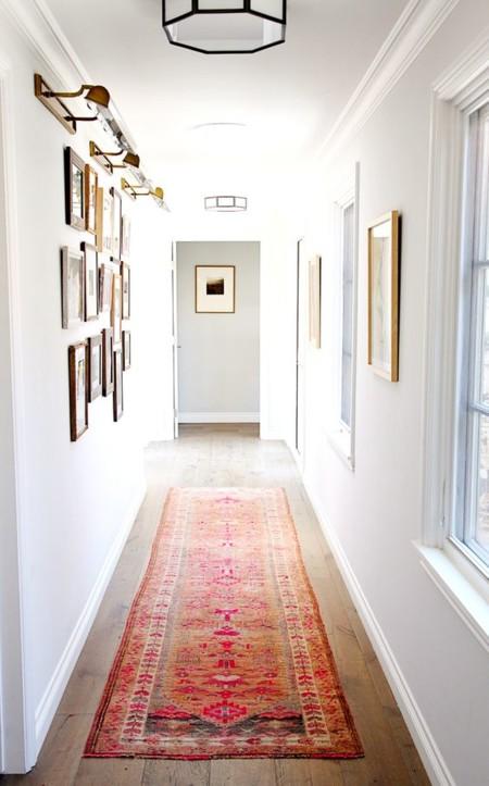 11 ideas para llenar de color tu casa con alfombras - Alfombras pasillo ...