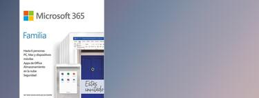 Microsoft 365 Familia está rebajado en Amazon a 52,99 euros solo hoy: licencia Office para seis Macs, PCs, smartphones o tabletas