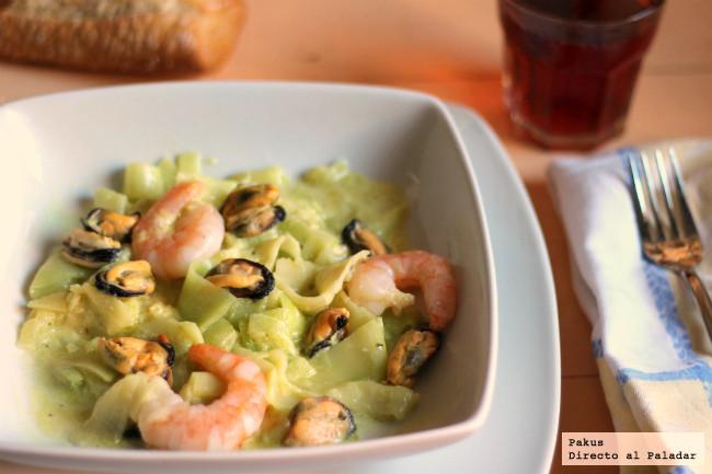 calabacines-espaguetis-mejillones