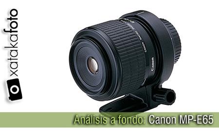 Análisis: Canon MP-E65