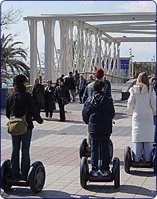 Barcelona en Segway