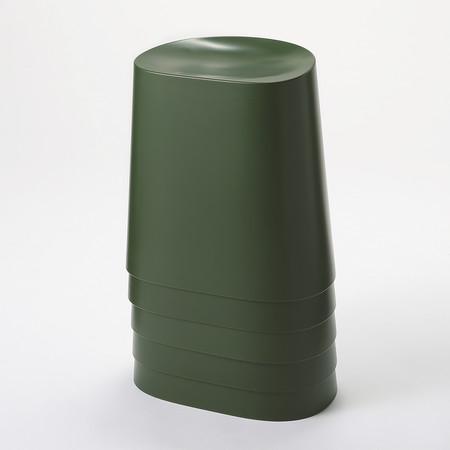 Muji Taburete Apilable De Pp Verde 20 95e 2