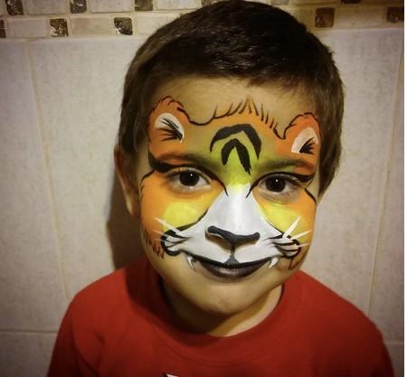 Lobito Alegria Maquillaje Infantil