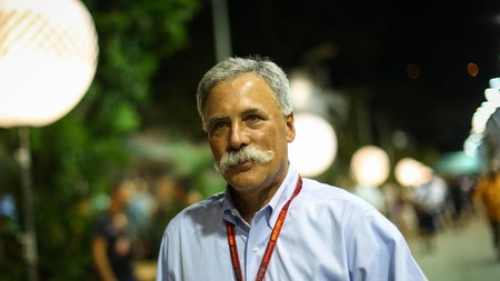 Chase Carey F1 2019