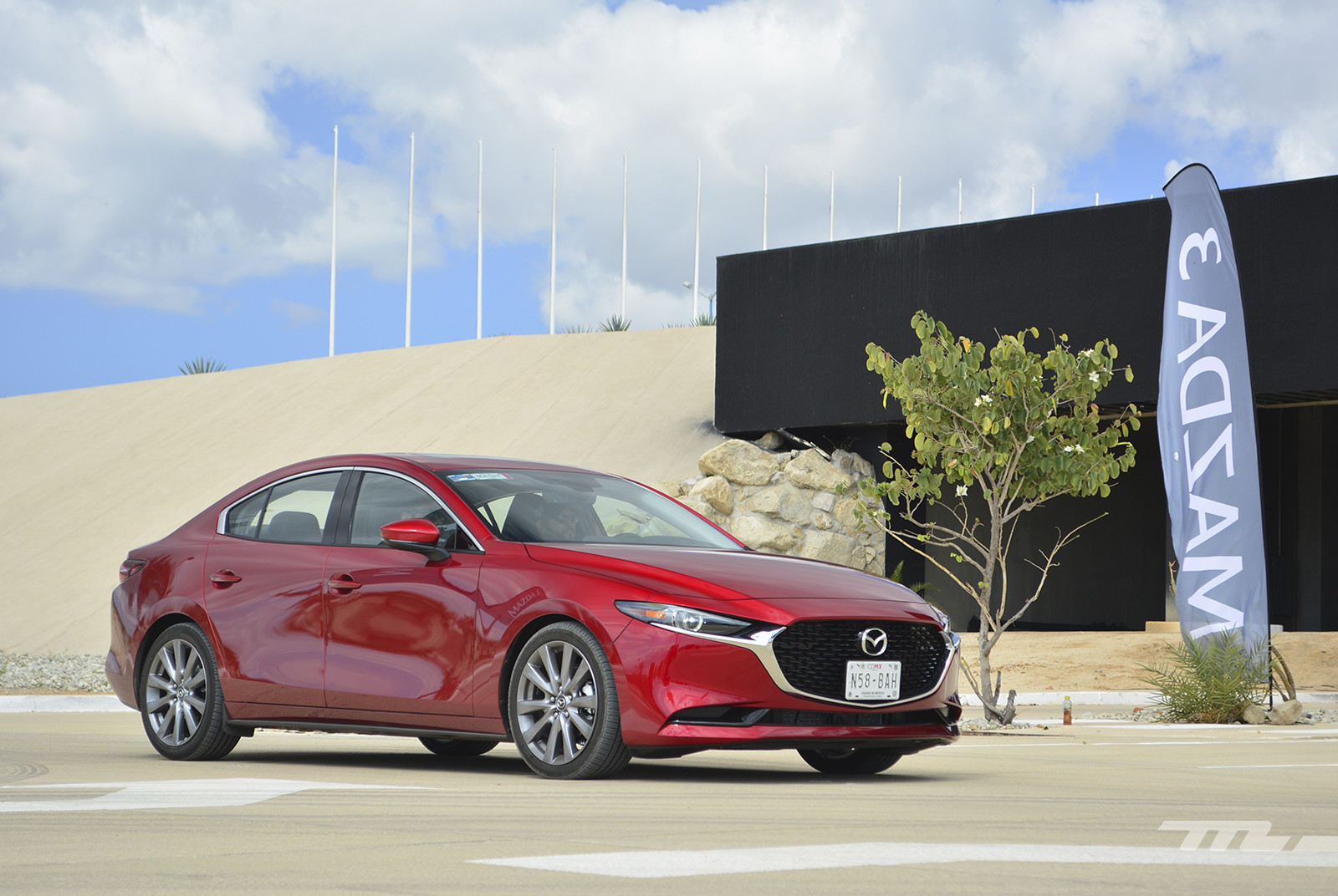 Foto de Mazda 3 2019 en México (17/27)