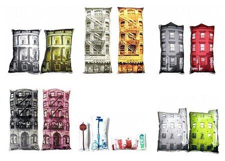 Cojines inspirados en los edificios de New York