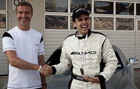 El español Marco Calvo gana un Mercedes SLS AMG
