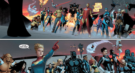 Civil War Ii 4 Doublepage Spread 1