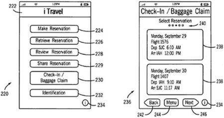 Apple patenta una aplicación dedicada a viajar, iTravel