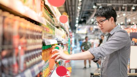 En qué fijarnos al leer las etiquetas nutricionales de los gazpachos y salmorejos de supermercado para elegir el más saludable