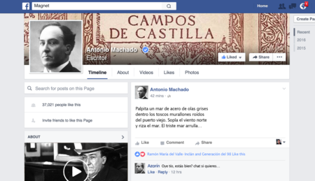 Así serían los artistas clásicos españoles si utilizaran las redes sociales hoy