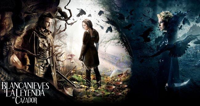 Imagen promocional de Blancanieves y la Leyenda del Cazador