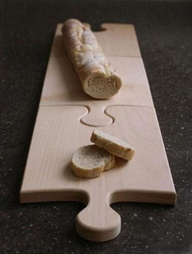 Tabla de cortar puzzle