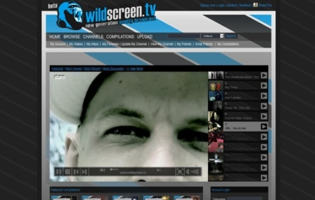 Wildscreen.tv, plataforma de vídeos de mayor calidad