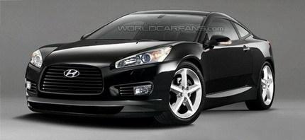 Posible foto del Hyundai i35 Coupe