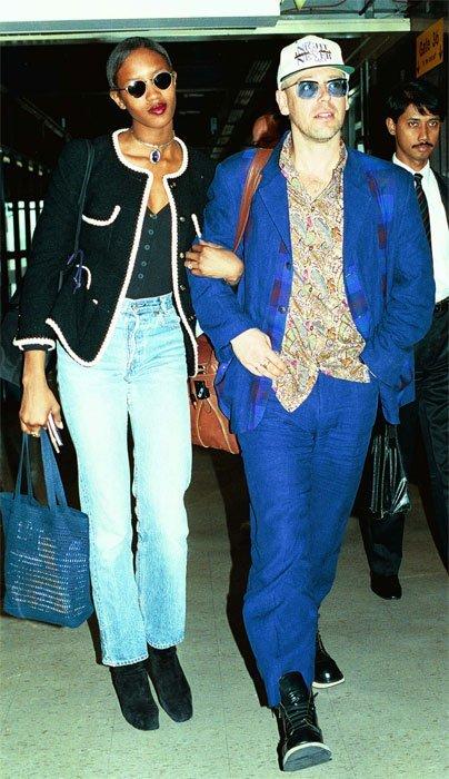 Naomi Campbell y Adam Clayton